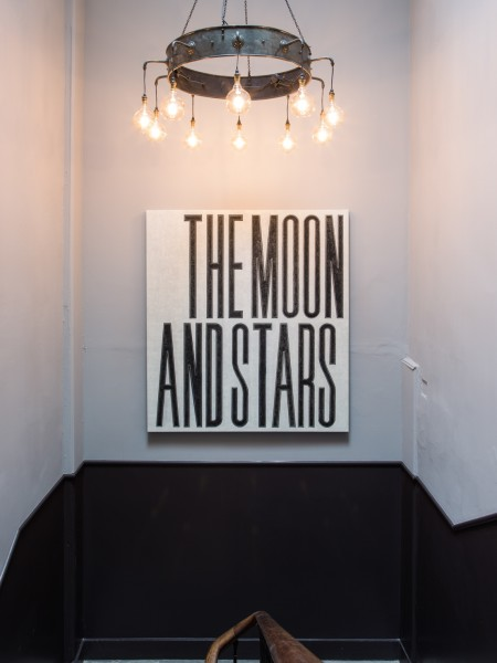 David Austen The Moon and Stars, 2009 oil on flax canvas 168 x 152.5 cm