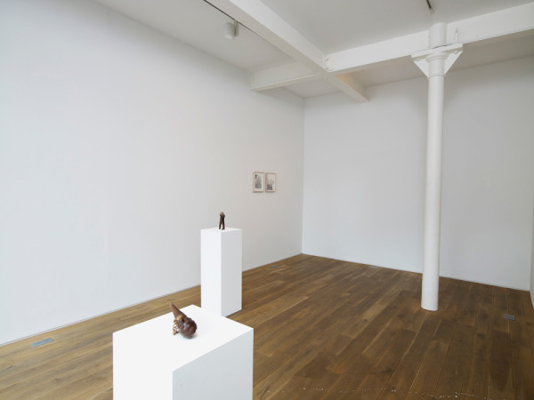 Installation view of Jonathan Owen, Gallery II, Ingleby Gallery 1 April - 14 May 2011