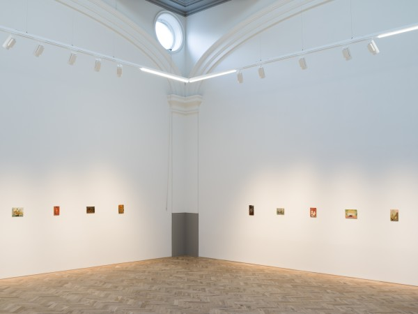 Installation view of Andrew Cranston: But the dream had no sound Ingleby, Edinburgh, 27 October – 21 December, 2018