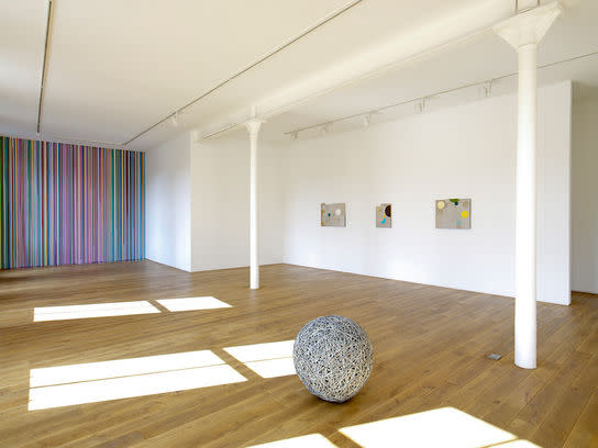 Installation view of the exhibition Gravity's Rainbow