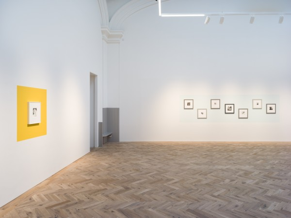 Installation view of Sometimes I disappear Ingleby, Edinburgh, 2 February - 13 April, 2019