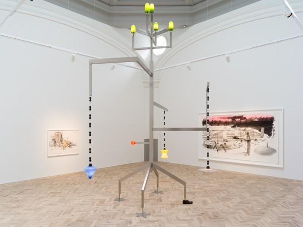 Installation view of Charles Avery: The Gates of Onomatopoeia Ingleby, Edinburgh, 27 April - 13 July 2019