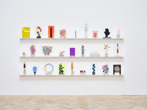 Installation view of David Batchelor: My Own Private Bauhaus Ingleby, Edinburgh, 24 July - 28 September 2019