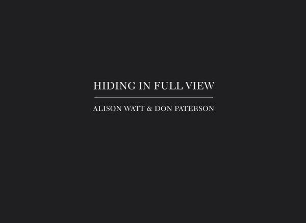 Alison Watt: Hiding in Full View