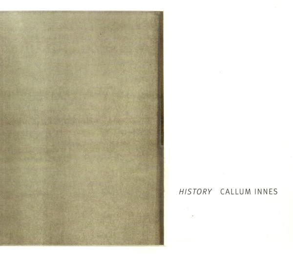 Callum Innes: History