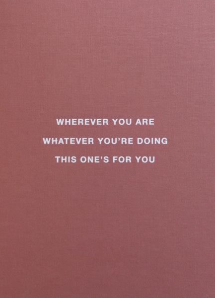 Wherever You Are Whatever You're Doing...