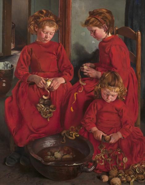 Léon Frédéric Les Trois Soeurs (The Three Sisters)
