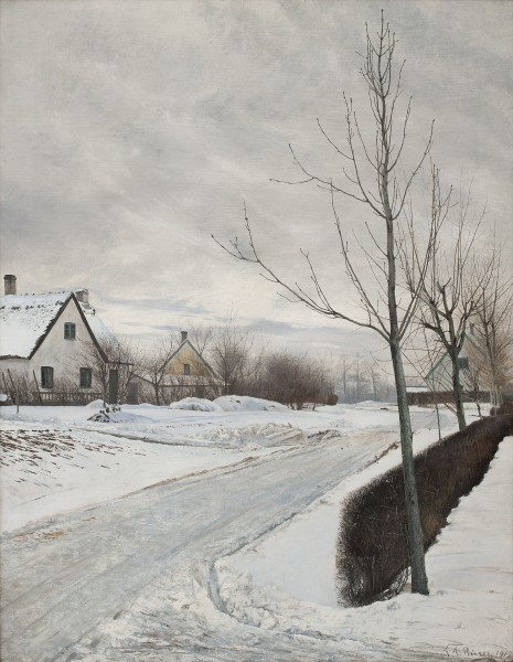 Laurits Andersen Ring  Road in the Village of Baldersbrønde