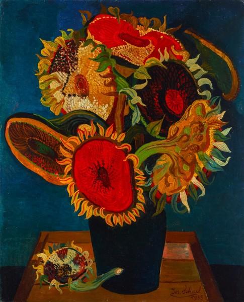 Josef Scharl Sunflowers
