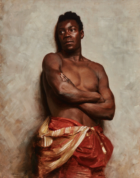 Max Pietschmann Study of a Black Model
