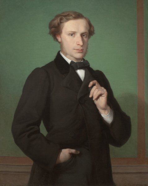 Gaston Casimir Saint-Pierre, Portrait of Monsier E.G***, 1861