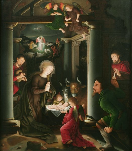 Ambrosius Benson and Studio, The Adoration of the Shepherds