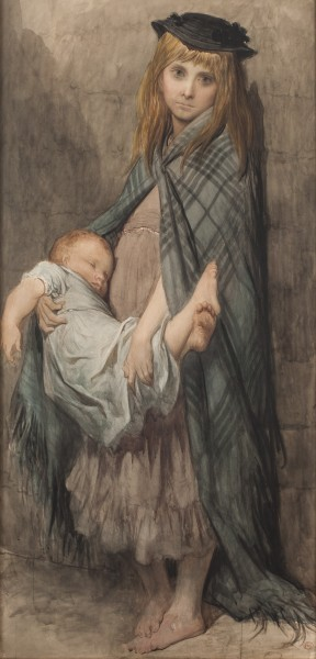 Gustave Doré, Poor Children of London, circa 1882-83