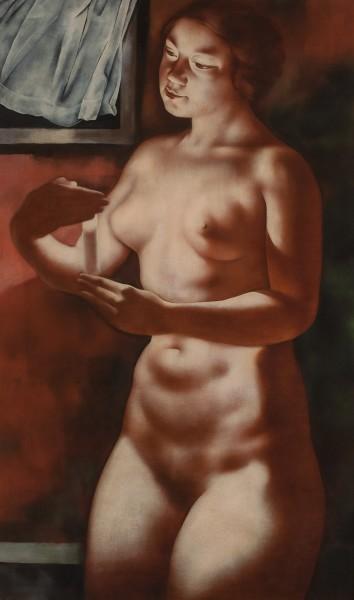 Hans Otto Orlowski, Girl with a Candle, 1932
