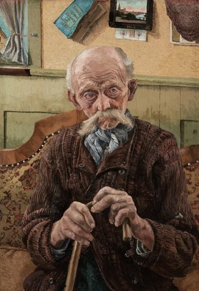 Richard Haberlandt, Portrait of a Seated Man, 1939