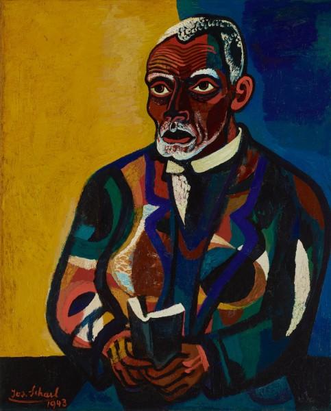 Josef Scharl, Praying Man (Tilly), 1943