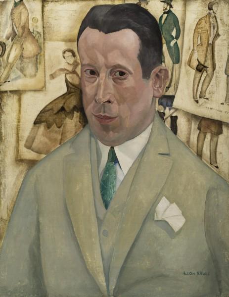 Léon Navez, Portrait of Gustave van Geluwe, 1925
