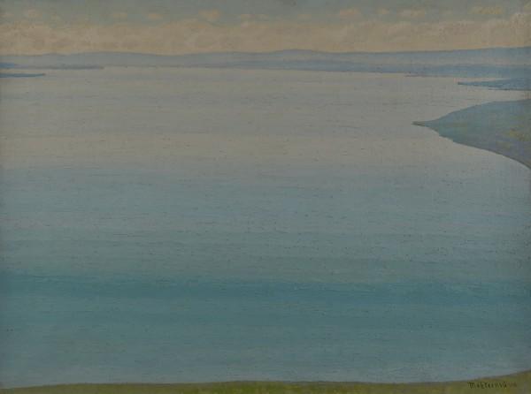 Marcel Victor d'Eternod, Lake Geneva in Chexbres, 1918