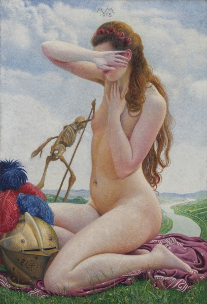 Richard Müller, Liebe und Tod (Love and Death), 1918