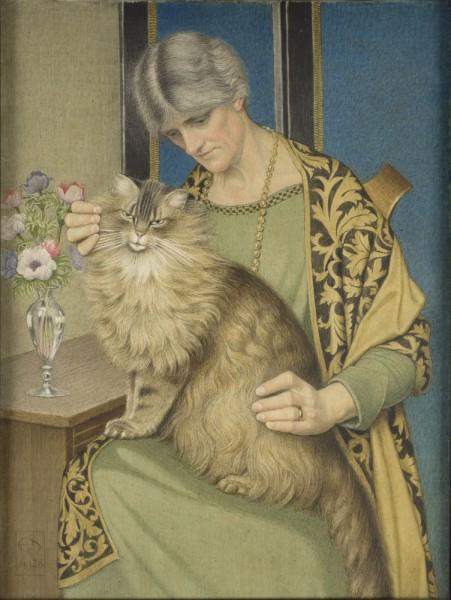 Joseph Southall, Contentment, 1928