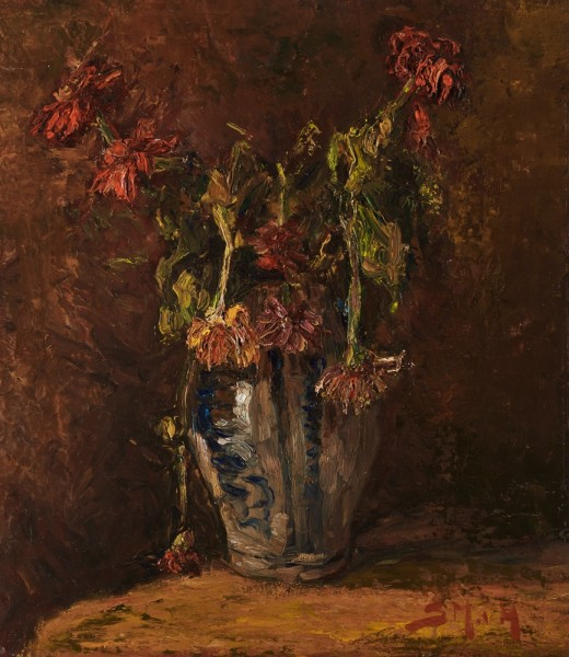 Sientje Mesdag-van Houten, Foral Still Life, c. 1885
