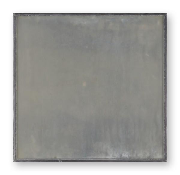 Katsuhito Nishikawa #022032 am Teich, 2012 Öl und Encaustic auf Karton, gerahmt H. 36,5 x 37,5 cm