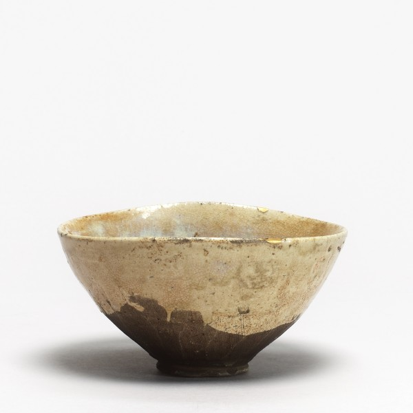 Keramik, #017113 Chawan - Teeschale, Seto, Edo-Zeit (1615-1868) 2te Hälfte