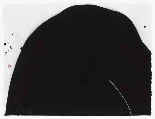 Kei Tanimoto, #021323 Black mountain, 2016