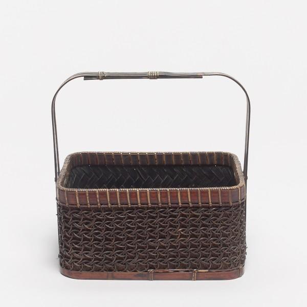 Körbe, #001112 Tabako-bon - Behälter für Rauchutensilien., Japan, Meiji-Zeit (1868-1912)