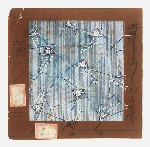 Katagami / Uwagami, #020844 Uwagami (Entwurfsschablone), Japan, Späte Edo-Zeit / Meiji-Zeit (2. H. 19. Jh. / Anfang 20. Jh.)