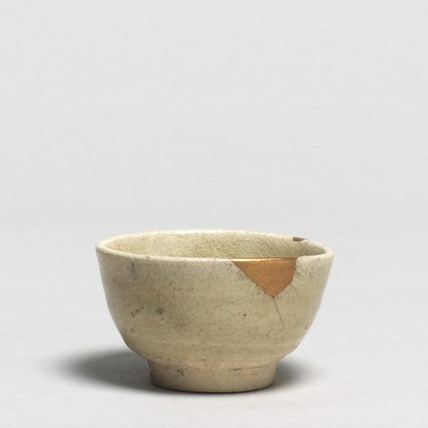 Keramik, #001366 Guinomi - Sakebecher, Seto, frühe Edo-Zeit, 17. Jahrhundert