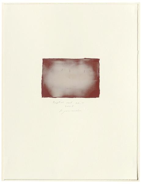 Hideaki Yamanobe, #015061 English red No. 11, 2005