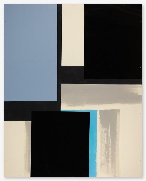 Monika Huber #019458 Mirror, 2007 acrylic / paper on nettle, acrylic on acrylic glass 150 x 120 cm