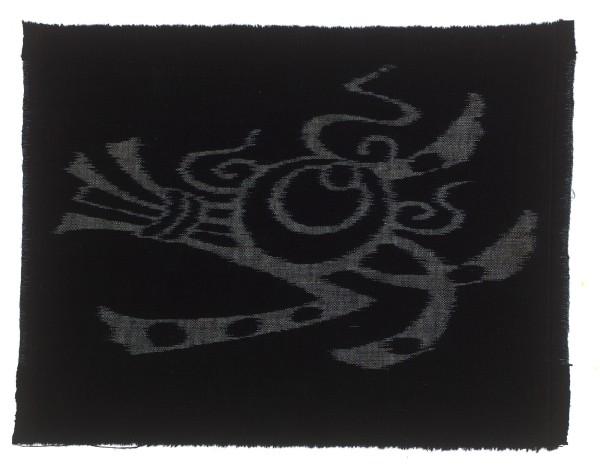 Textilien #004021 Kasuri, Tama and noshi, 19th C 25,3 x 33 cm