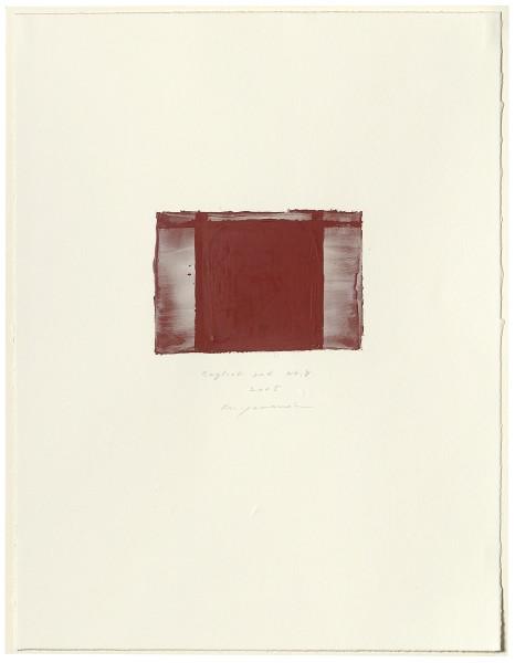 Hideaki Yamanobe, #015058 English red No. 8, 2005