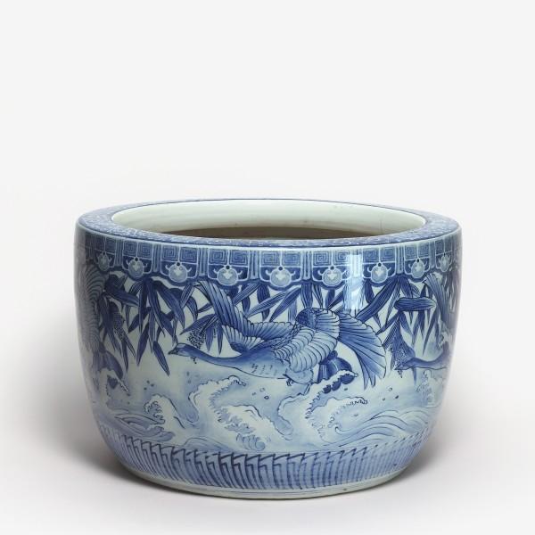 Porzellan, #009400 Hibachi - Holzkohlebecken