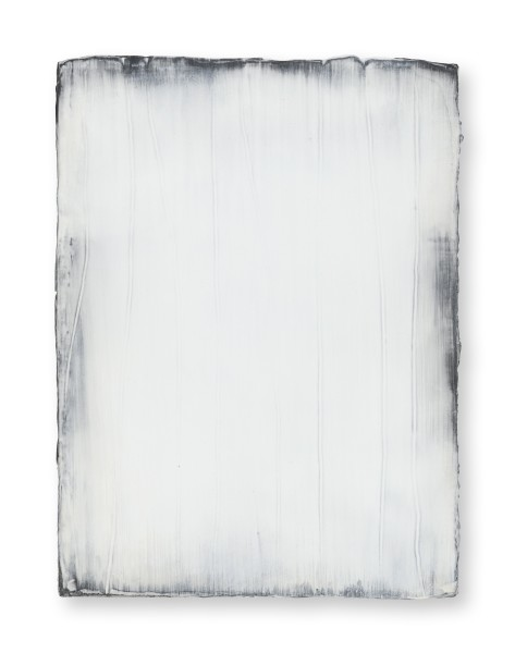 Hideaki Yamanobe #021819 Daylight white 2018-3, 2018 Acryl auf Nessel 40 x 30 x 3,5 cm