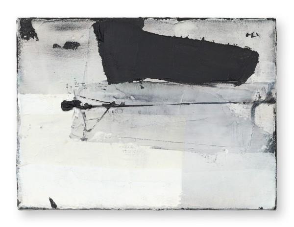 Hideaki Yamanobe #022215 Piano-Phase-grand IV, 2019 Acryl und Papier auf Nessel 28 x 38 x 4 cm