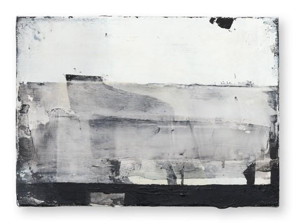 Hideaki Yamanobe #022217 Piano-Phase-grand III, 2019 Acryl und Papier auf Nessel 28 x 38 x 4 cm
