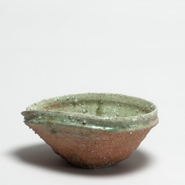 Shiro Tsujimura, #000715 Schale mit Ausguß (katakuchi), iga-Typ, 1992