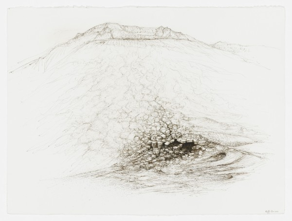 Raffi Kaiser, #021662 Landschaft, um 2017