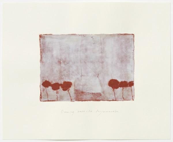 Hideaki Yamanobe #022225 Drawing 2020-10, 2020 Acryl auf Papier Motiv: ca 18,5 x 26 cm; Blatt: 38 x 46,4 cm