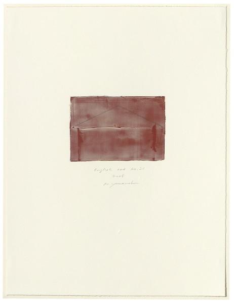 Hideaki Yamanobe, #015076 English red No. 26, 2005