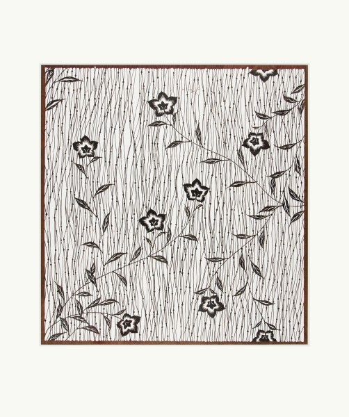 Mingei, #016490 Katagami (Textilfärbeschablone), Japan, Meiji-Zeit (1868—1905), Juli 1905