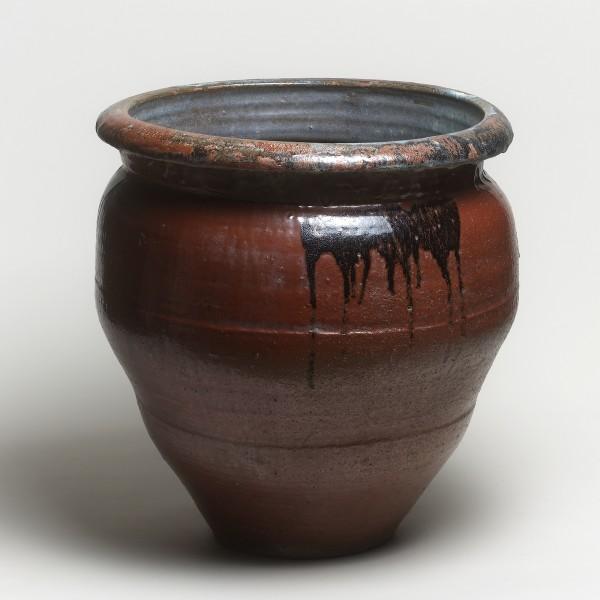 Keramik, #000250 Mizugame - Vorratstopf für Wasser, Ende Edo-Zeit (1615–1868) 19. Jh.