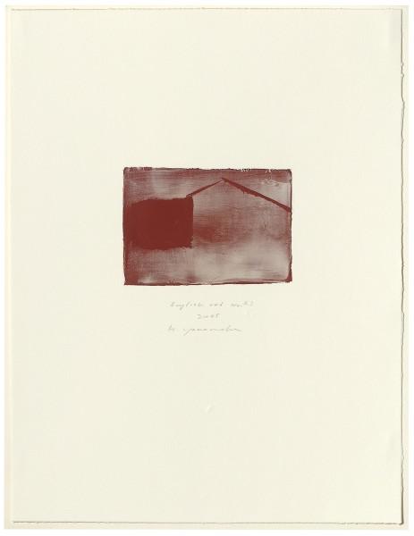 Hideaki Yamanobe, #015073 English red No. 23, 2005