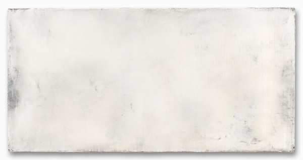 Hideaki Yamanobe #019102 White Screen, 2007 Acryl auf Nessel 70 x 140 x 4 cm