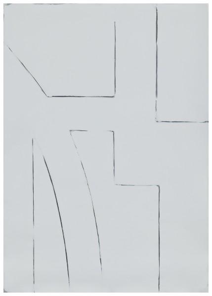 Jürgen Schön #022133 Zeichnung, 2020 Bleistift, Farbstift, Acryl auf Papier 60,7 x 42,9 cm