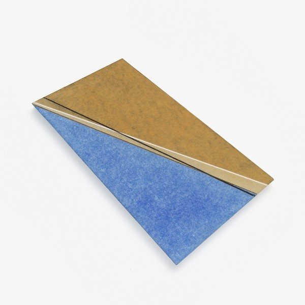 Koichi Nasu #012653 10.09.96, 1996 Aquarell und Wachskreide auf Papier auf Syropor 26 x 15 x 2 cm