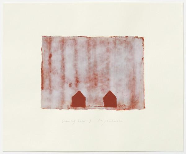 Hideaki Yamanobe #022224 Drawing 2020-7, 2020 Acryl auf Papier Motiv: ca 18,5 x 26 cm; Blatt: 38 x 46,4 cm